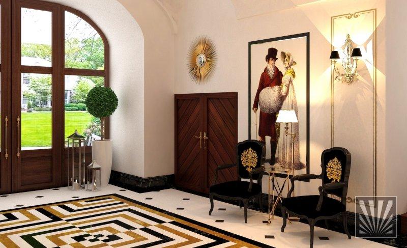 Hotel Foyer Interiors : Real beauty interior design s r o hotel foyer chateau